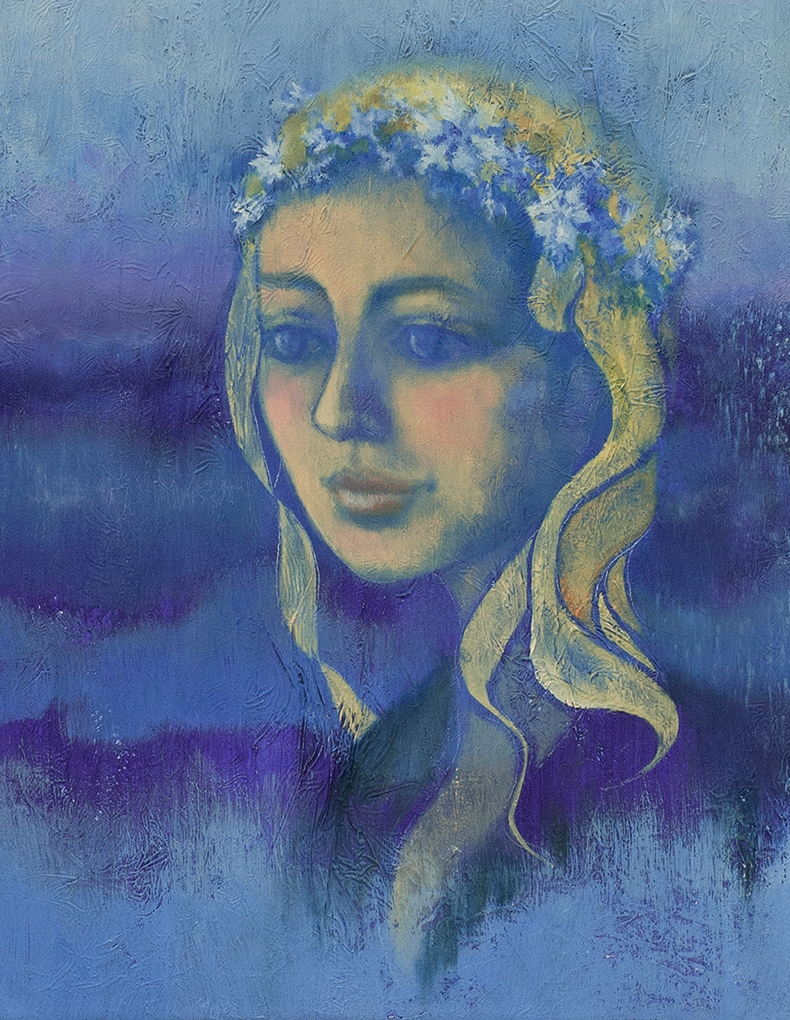 Snegurochka (Snow Maiden) at Dawn